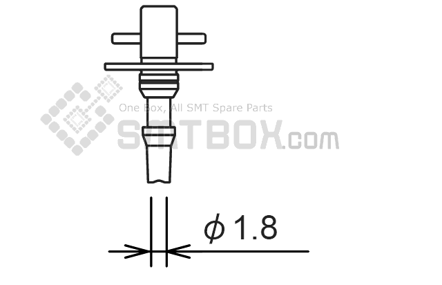 Enlarge - FUJI NXT H01 H04 H08 H12 SMT SMD Nozzle